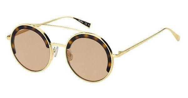 Max Mara Damen Sonnenbrille » MM EILEEN I«, weiß, IJQ/IR - weiß/grau