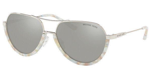 MICHAEL KORS Michael Kors Damen Sonnenbrille »AUSTIN MK1031«, grün, 10247P - grün/ gold