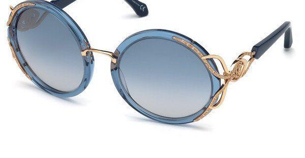 roberto cavalli Roberto Cavalli Damen Sonnenbrille » RC1076«, blau, 90X - blau/blau