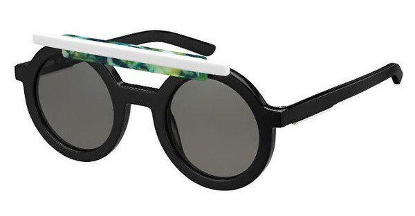 Oxydo Damen Sonnenbrille » OX 1099/CS/LE«, schwarz, VX0/NR - schwarz/grau
