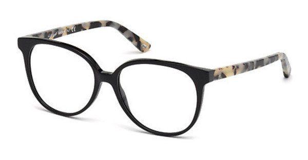 Web Eyewear Damen Brille » WE5199«, schwarz, 005 - schwarz