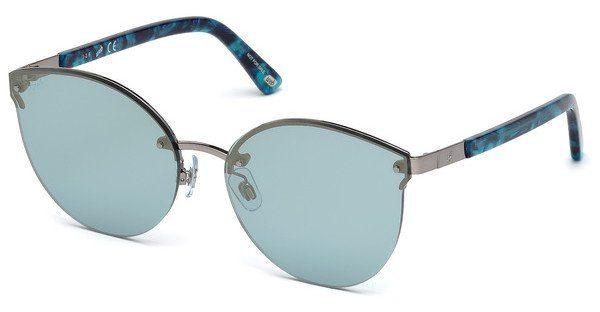 Web Eyewear Damen Sonnenbrille » WE0197«, grau, 08X - grau/blau