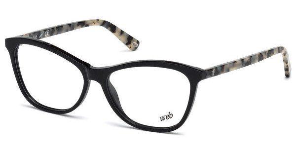 Web Eyewear Damen Brille » WE5227«, schwarz, 005 - schwarz
