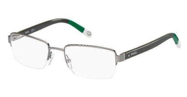Fossil Herren Brille » FOS 6005«, grau, GXT - grau