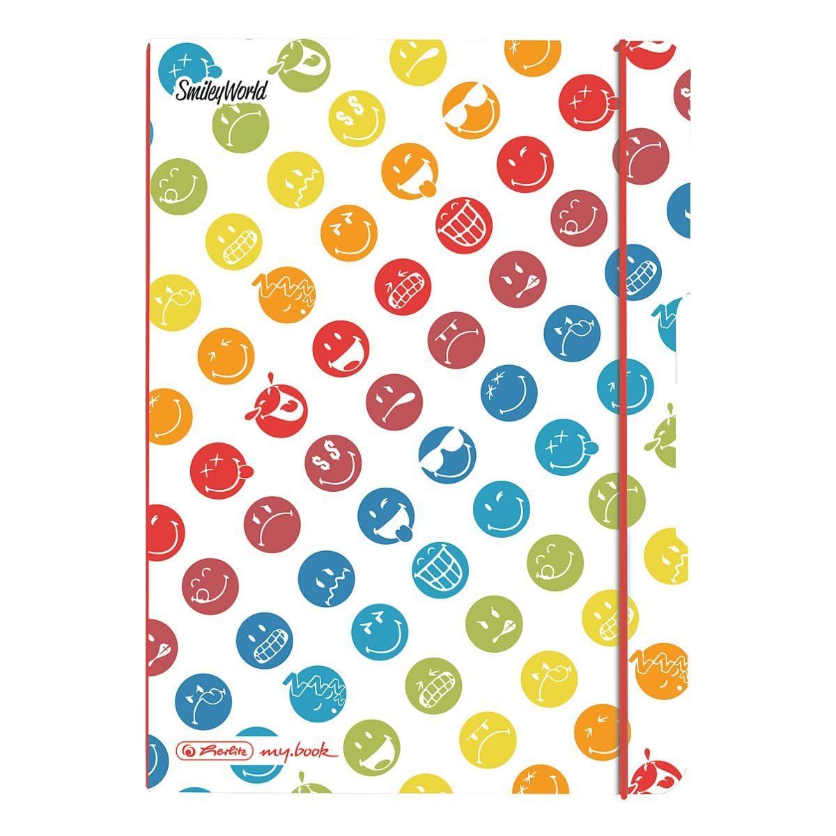 Notizheft my.book flex »Smiley World Rainbow«