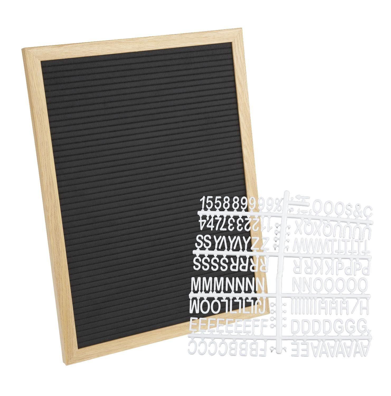 "Letterboard ""40 cm x 30 cm"" inklusive Buchstaben"