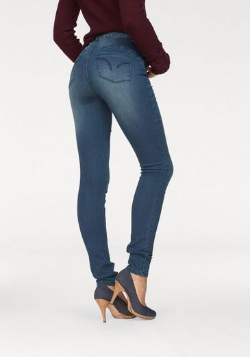 Arizona Skinny-fit-Jeans »Shaping- Bund« High Waist, Super-Soft-Touch-Denim