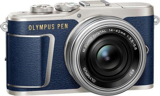 Olympus »E-PL9 14-42mm EZ Pancake Kit inkl. Ladegerät + Akku« Systemkamera (M.ZUIKO DIGITAL 1442mm, 16,1 MP, 3x opt. Zoom, Bluetooth, WLAN (Wi-Fi)