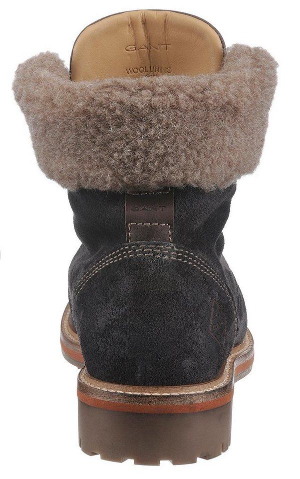 Gant Footwear »Natalie« Winterboots mit Fellimitat-Kragen