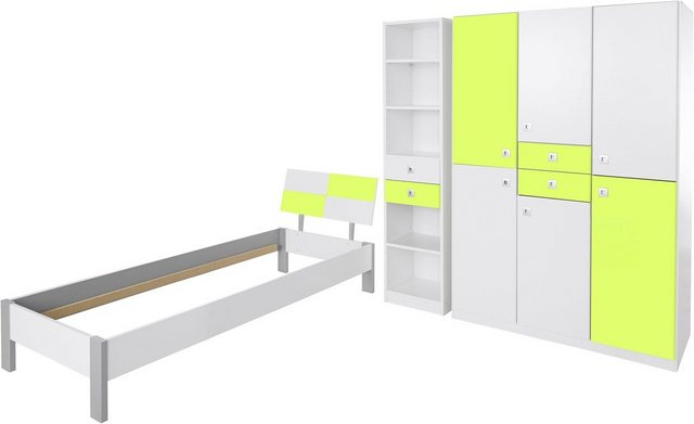 Komplettzimmer - Wimex Jugendzimmer Set »Sunny«, (Set, 3 tlg)  - Onlineshop OTTO