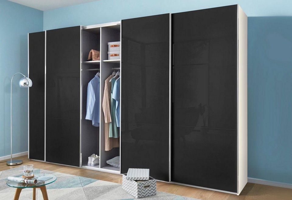 fresh to go schwebet renschrank level mit glast ren und synchron ffnung online kaufen otto. Black Bedroom Furniture Sets. Home Design Ideas
