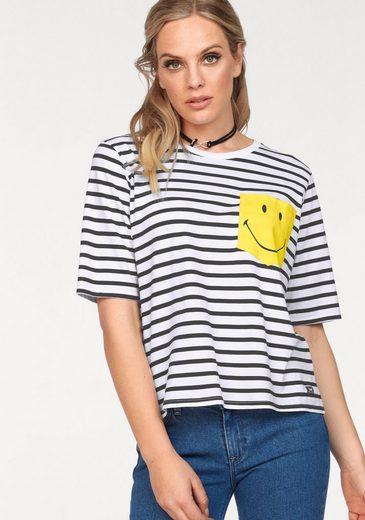 Lee® T-Shirt mit coolem Smiley-Print