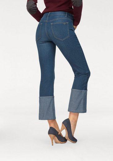 Arizona 7/8-Jeans »im Kick-Flare Style« Mid Waist