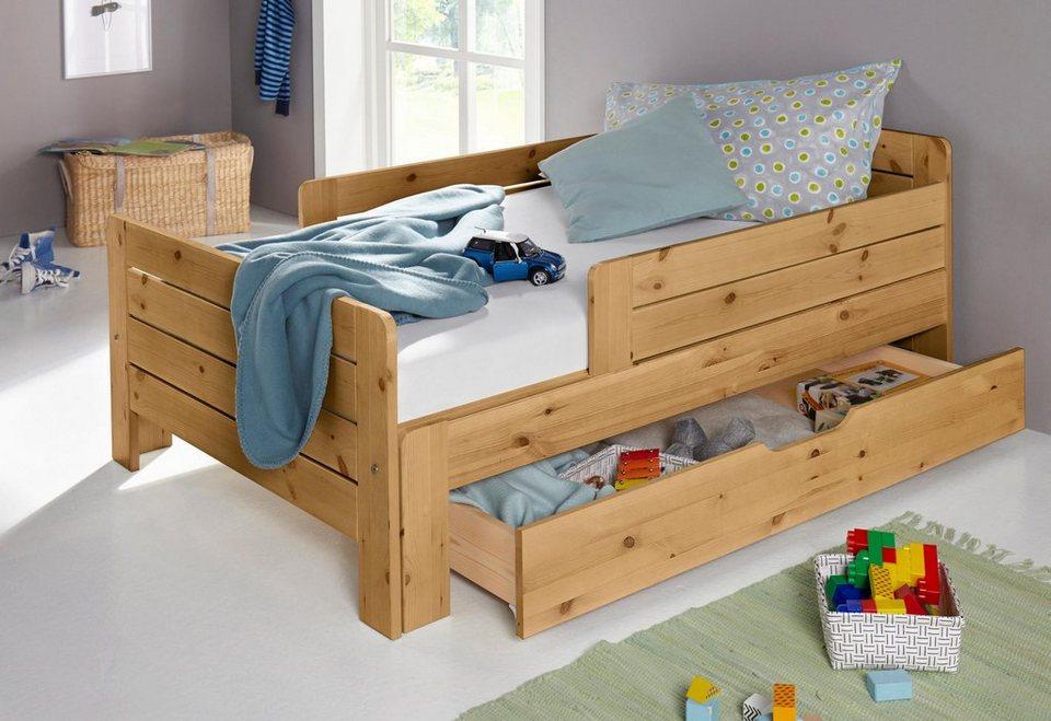 Funktionsbett Ausziehbar Funktionelles Mitwachsendes Kinderbett Online Kaufen Otto