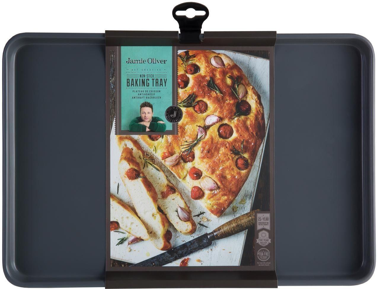 Jamie Oliver Backblech, Karbonstahl, 39 x 26,5 x 2,5 cm, »JB1010«