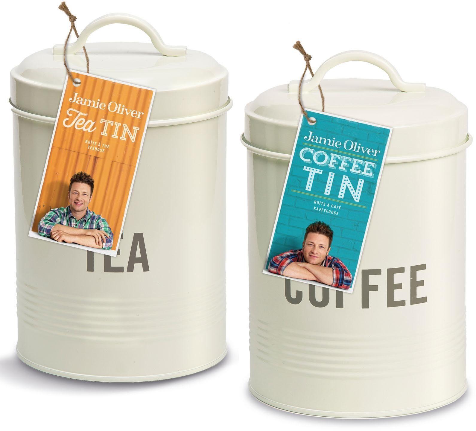 Jamie Oliver Dosen-Set Edelstahl, 2-teilig, »Coffee/Tea«