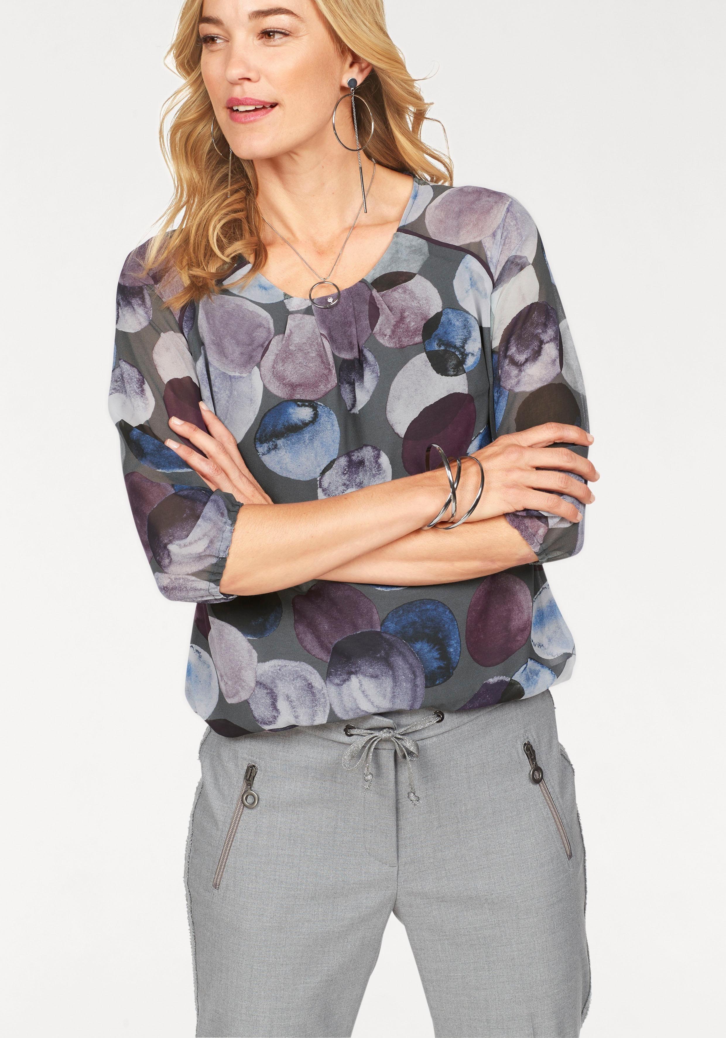 bianca Tunika Rani, mit elastischem Saum und leicht transparenten Ärmeln | Bekleidung > Tuniken > Sonstige Tuniken | bianca