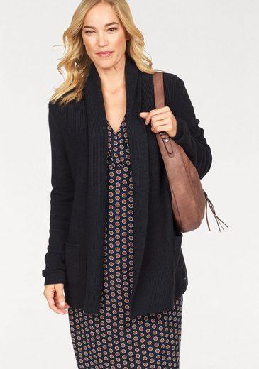 Style Taschen Olsen Open Meliert Strickjacke tlg Mit Cardigan 1 r0wPqwx17n