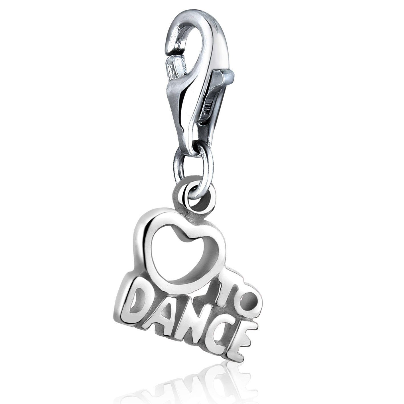 Nenalina Charm-Einhänger Love to Dance Charm