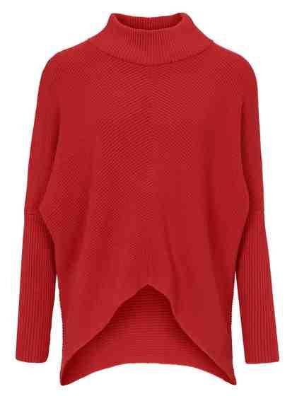 heine CASUAL Pullover hinten länger geschnitten