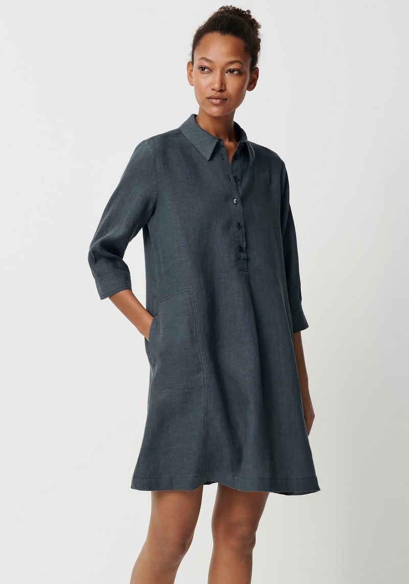 someday Hemdblusenkleid »Quini« mit abgesteppten, seitlichen Taschen