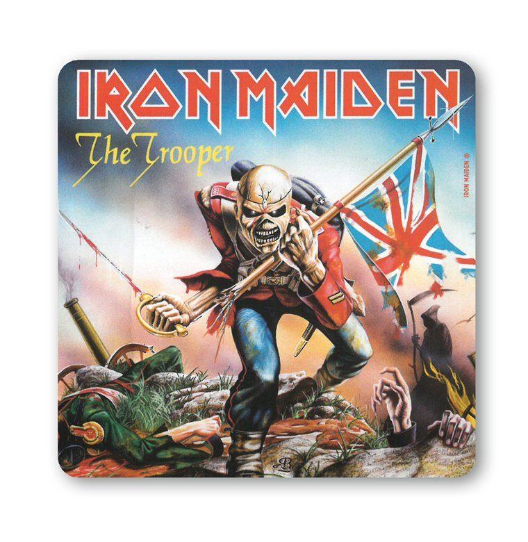 LOGOSHIRT Untersetzer im Iron Maiden-Design