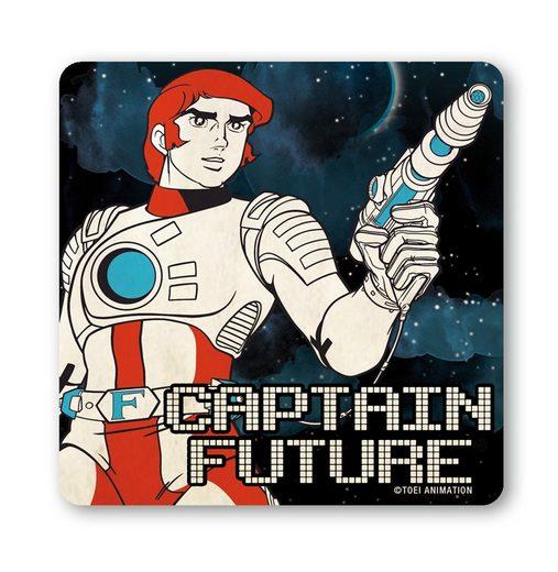 LOGOSHIRT Untersetzer mit Captain Future-Motiv