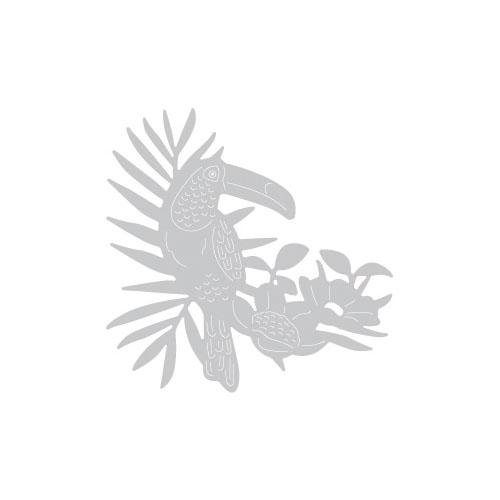 """Sizzix Thinlits Stanzschablone """"Tropical Bird"""" 1 Motiv"""