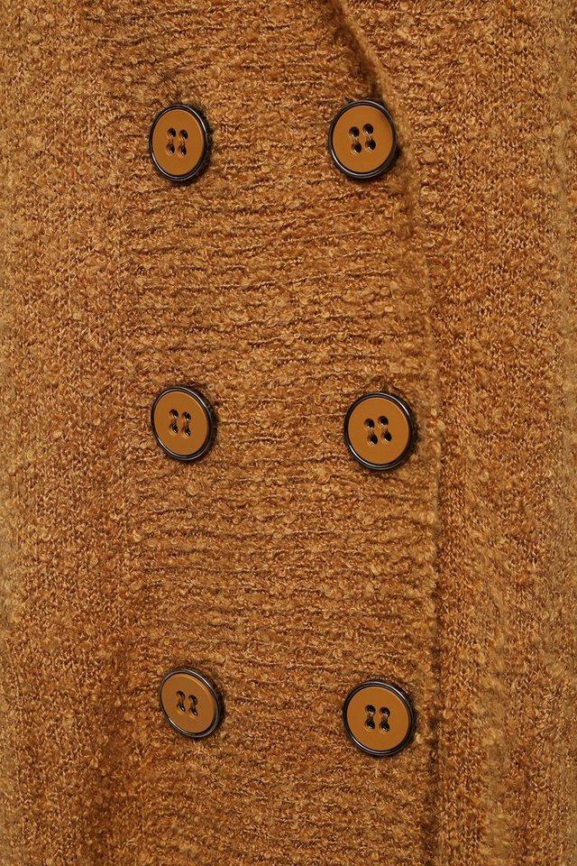 Damen Finn Flare Strickjacke mit großen Knöpfen blau, braun, grau, schwarz | 06438157113474
