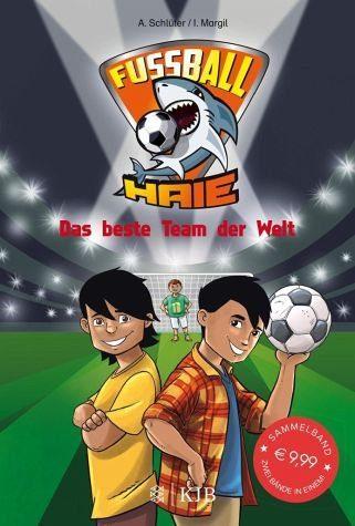 Gebundenes Buch »Das beste Team der Welt / Fußball-Haie Bd.3+4«