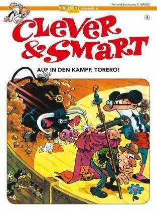 Broschiertes Buch »Immer Ärger mit dem Bullen / Clever & Smart Bd.4«
