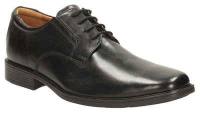 Clarks »Tilden_Plain« Schnürschuh mit komfortablem Fußbett