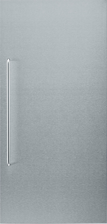 Bosch Edelstahlfront KFZ40SX0, mit Griff, für Einbau-Kältegeräte, 122 cm Nische