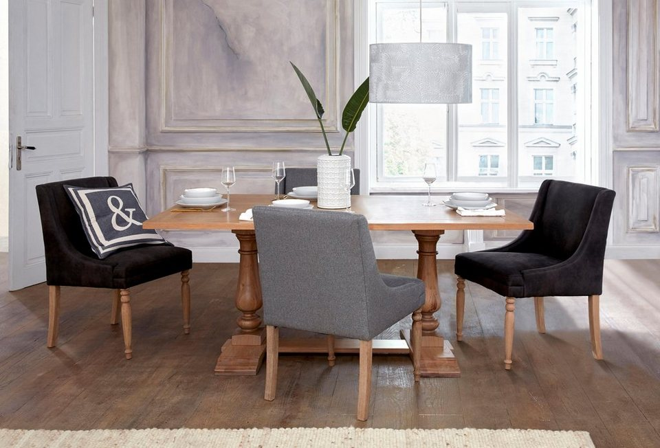 gmk home living esstisch westh s in 3 unterschiedlichen gr en und sch nen gedrechselten. Black Bedroom Furniture Sets. Home Design Ideas