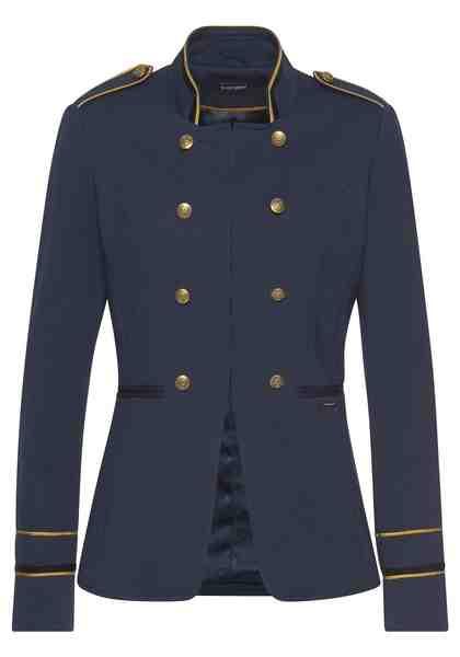 Bruno Banani Longblazer im Uniform-Look