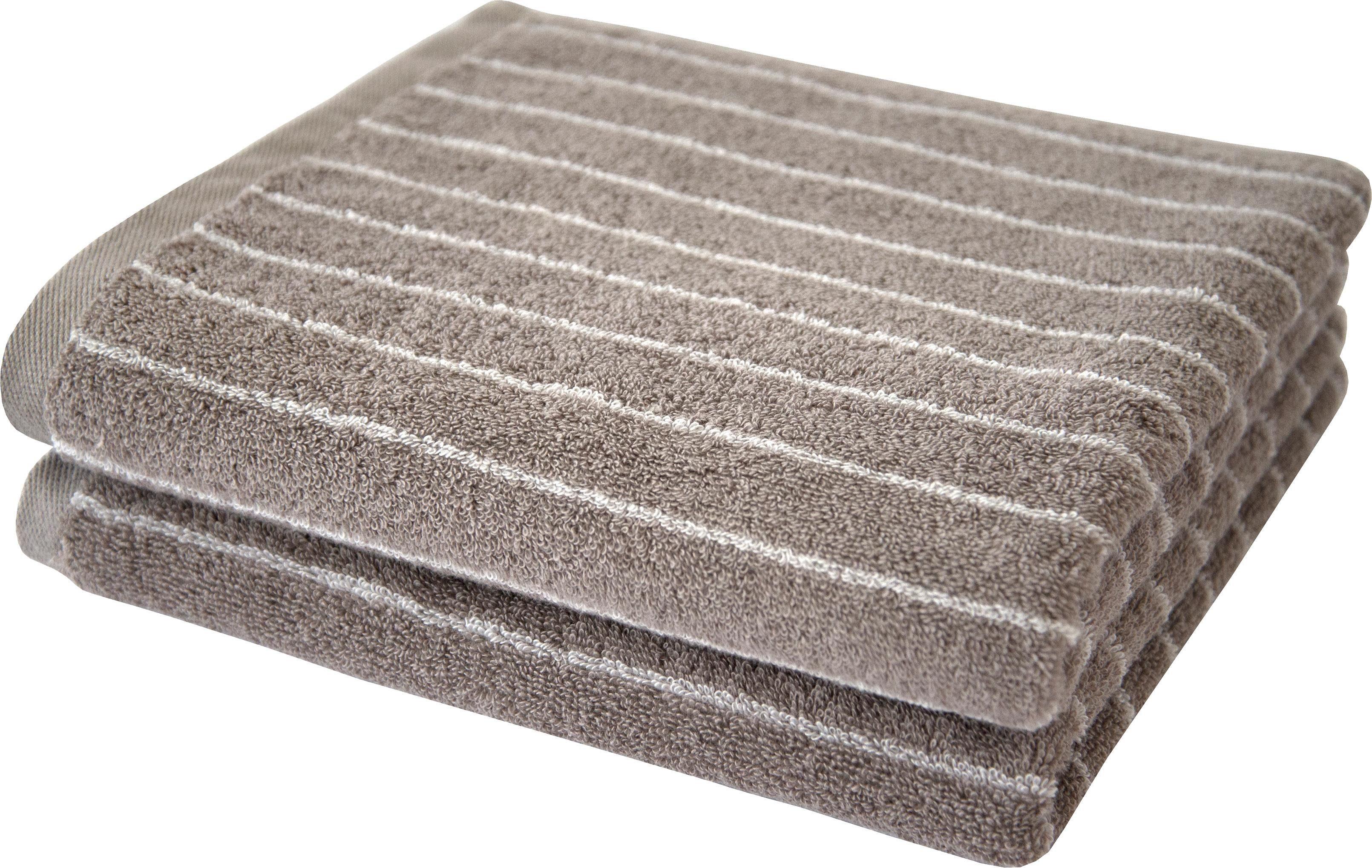 Handtücher »Nadelstreifen«, Dyckhoff, mit eingewebten Nadelstreifen