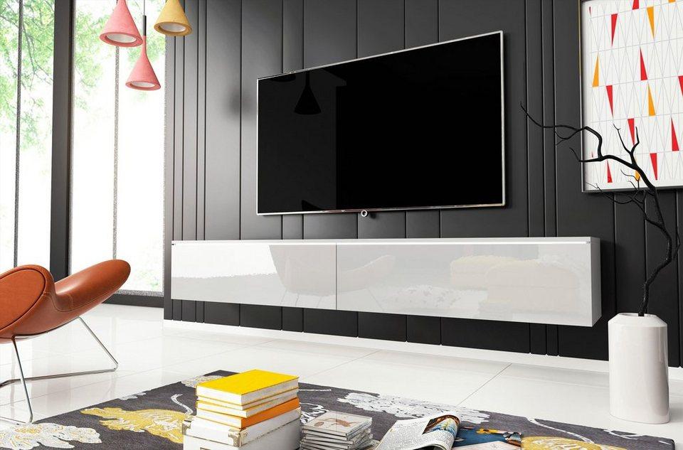 Lowboard, Breite 180 cm, In verschiedenen Farben online