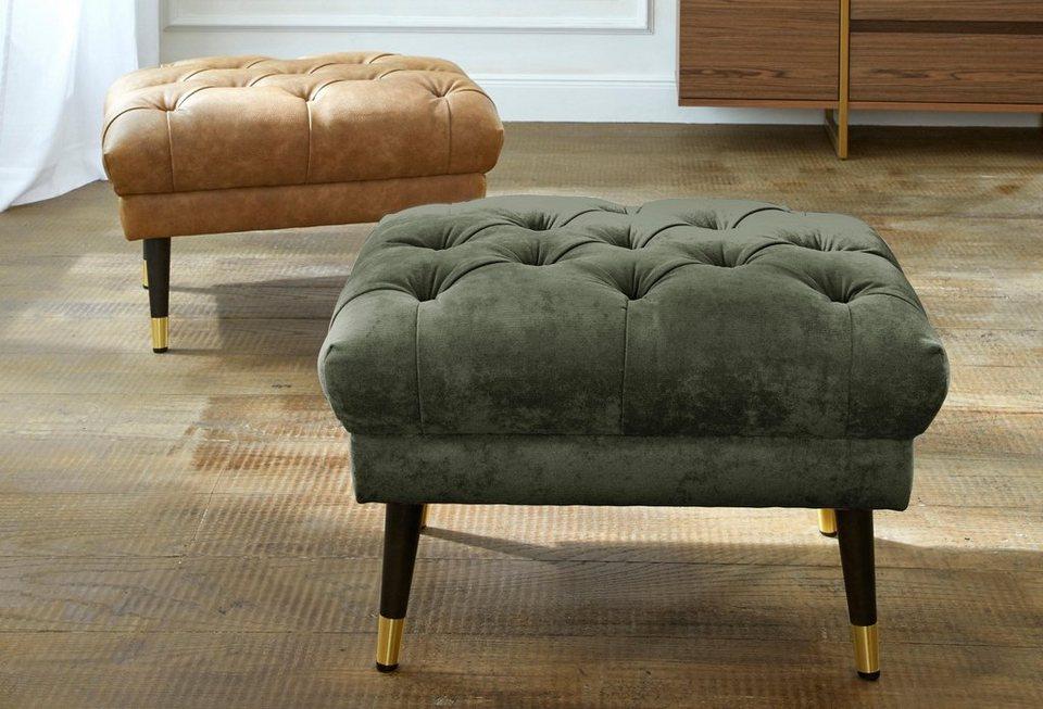gmk home living chesterfield hocker tinnum passend zur serie online kaufen otto. Black Bedroom Furniture Sets. Home Design Ideas