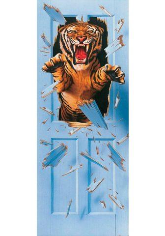 PAPERMOON Фотообои »Bursting Tiger - T&uum...