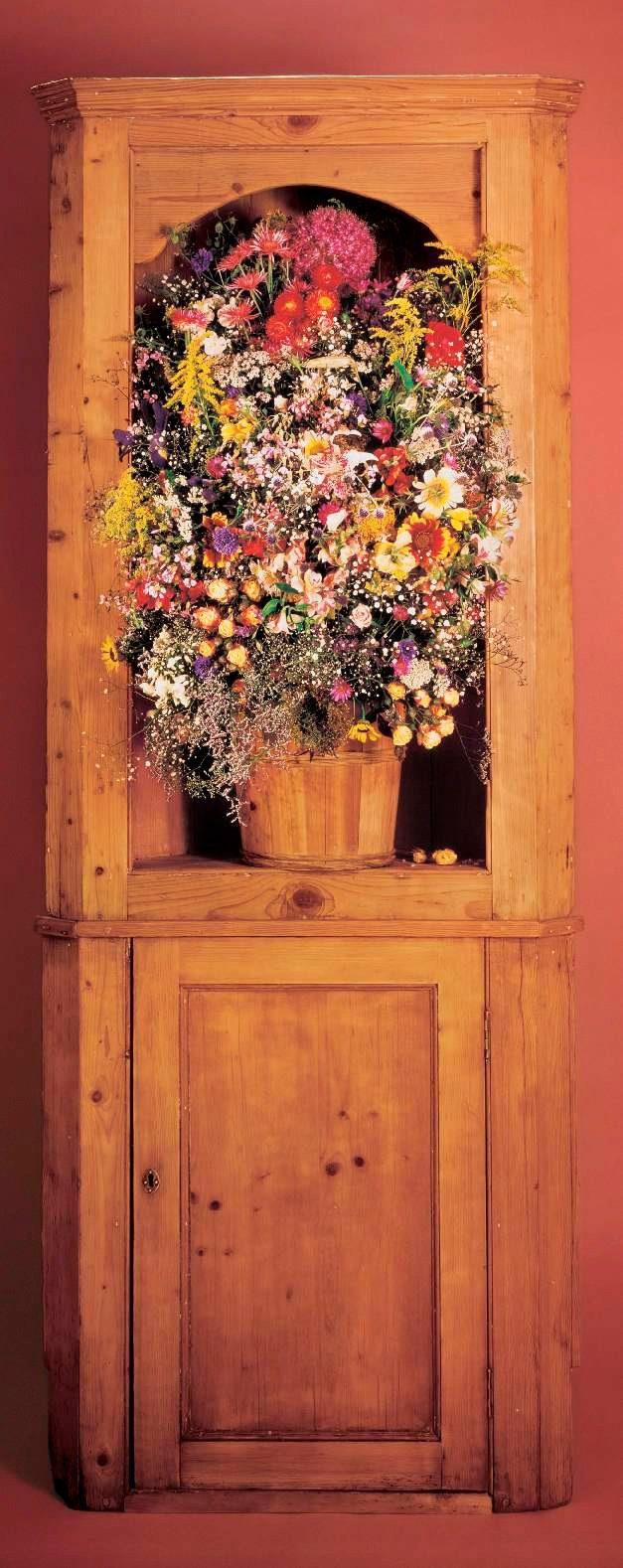 PAPERMOON Fototapete »Flower Ornament - Türtapete«, Vlies, 2 Bahnen, 90 x 200 cm