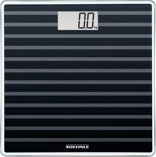 Soehnle Personenwaage »Sense Compact 200, Black Edition«