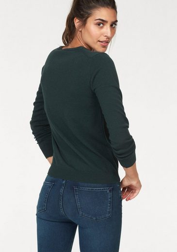 Wolle V Aus Hochwertiger Gant pullover ausschnitt 6qqwXO