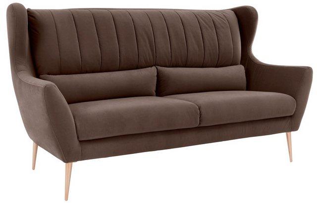 Guido Maria Kretschmer Home&Living 3-Sitzer »Teft« | Wohnzimmer > Sofas & Couches > 2 & 3 Sitzer Sofas | Guido Maria Kretschmer Home&Living