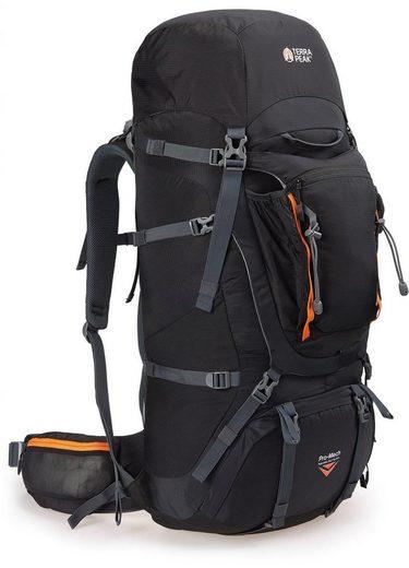 Terra Peak Hochtourenrucksack »Beta Trail 65+12« (inkl. Regenhülle)