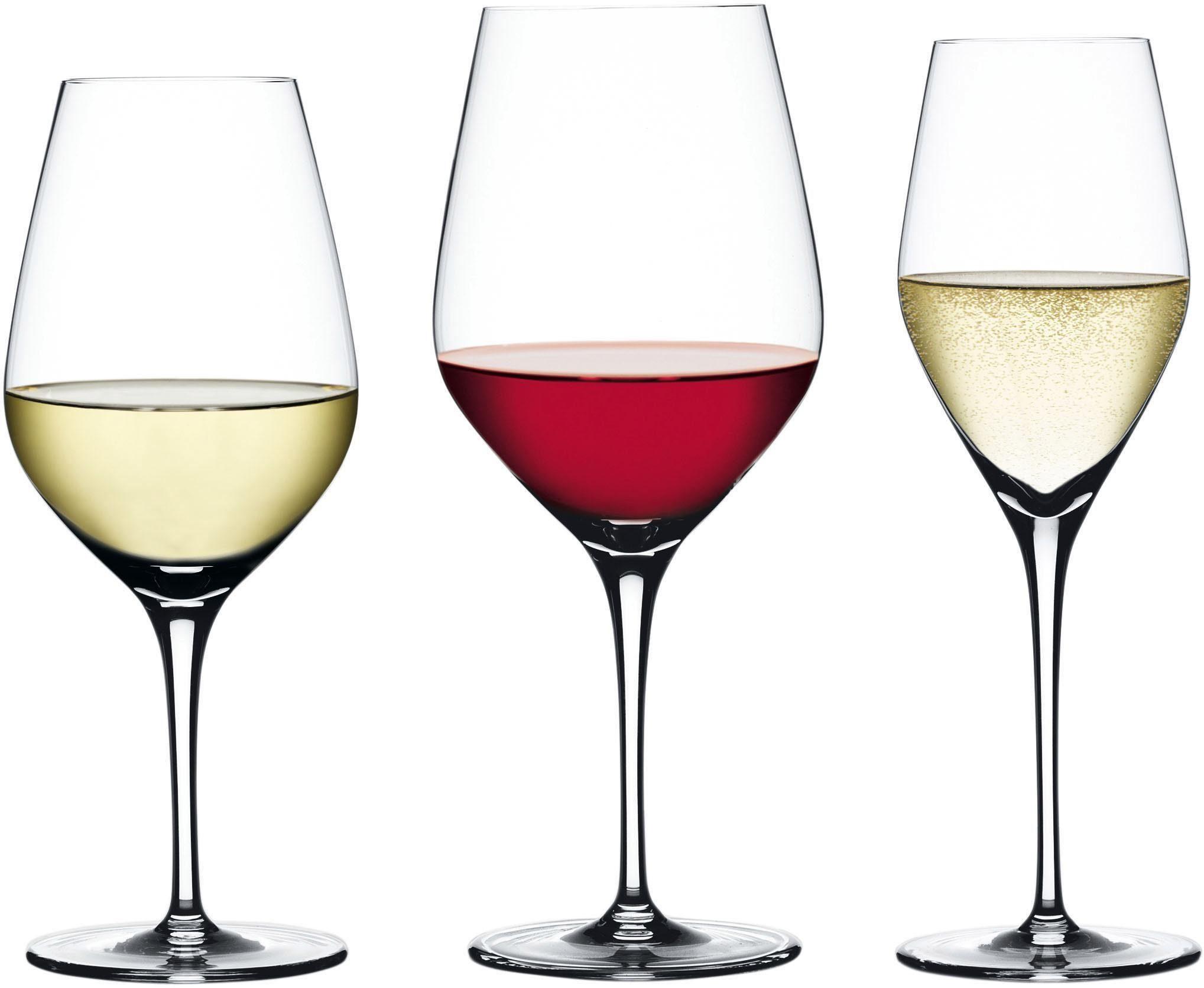 SPIEGELAU Gläser-Set »Authentis« (12-tlg), Hightech-Fertigung
