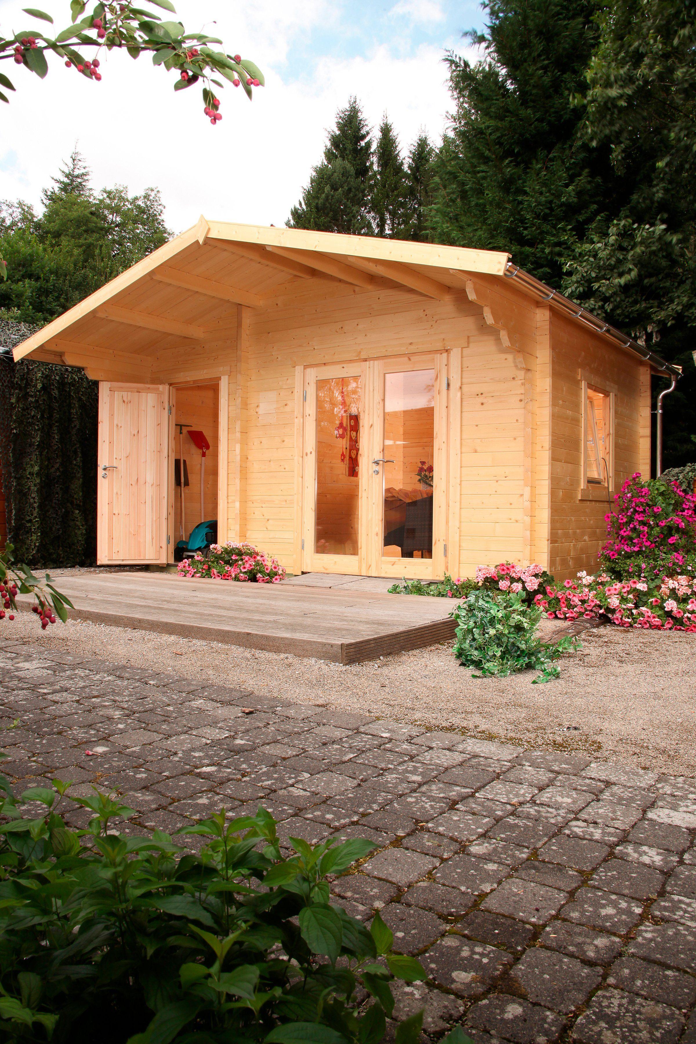 WOLFF Gartenhaus »Caro 58-B Modern«, BxT: 510x360 cm