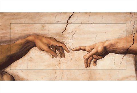 Bild, Home affaire, »S., A.: Hände«, 100/50 cm in natur