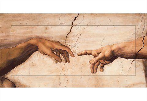 Home affaire Bild »S., A.: Hände«, 100/50 cm
