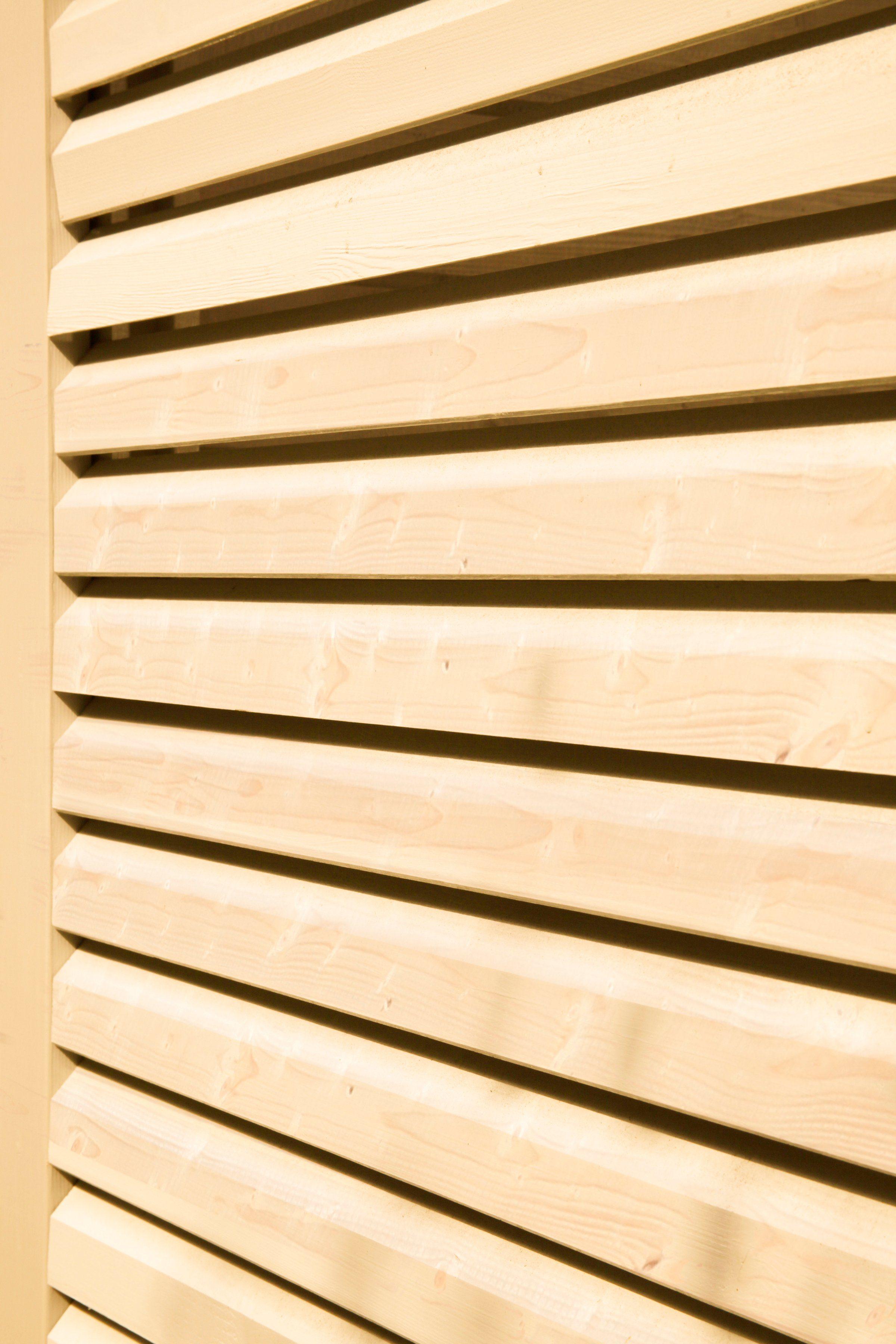 WOLFF Seitenwand »Nina 28-B«, Für 5-Eck-Gartenhaus