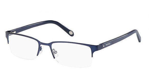 Fossil Herren Brille » FOS 6024«, blau, G9X - blau